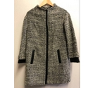 M&S Marks & Spencer Winter Coat Grey Size: 18