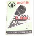 GWR Engines: Names, Numbers, Types & Classes