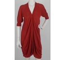Max Mara Longline Cardigan Burnt Orange Size: M