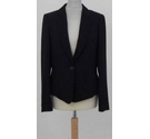 Hobbs fitted formal jacket black Size: 12