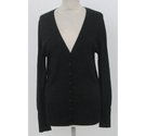 Zara V Neck Cardigan Black Size: L