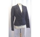 Tommy Hilfiger Fitted Blazer Navy Blue Size: 6