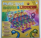 Multi-Level Snakes And Ladders Game