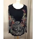 MARC AUREL Ladies Top BLACK Size: 10