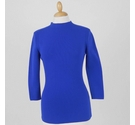 Reiss Ribbed Top Royal Size: 8