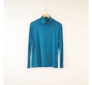 Tu Supersoft Jersey Roll Neck Top Bright Teal Size: 20