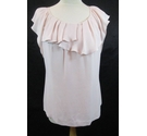 Monsoon sleeveless top pink Size: 14