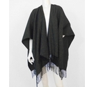 M&S Marks & Spencer NWOT Wrap Shawl Black and Gold Size: One size: regular