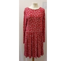New Look Dress Deep Red Size: 10