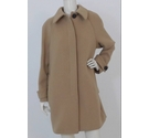 M&S Collection Wool Blend Coat Caramel Size: 16