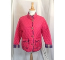 Jack Murphy Quilted Jacket Red Size: 18