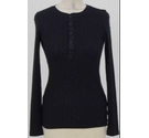 Polo Ralph Lauren Black long sleeve top Black Size: XS