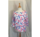 Joules Long-sleeved top Pink/multi Size: 18