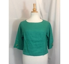 Monsoon Long-sleeved Top Jade Gree Size: S