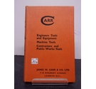 Carr Engineers Tools and Equipment; Machine Tools; Contractors and Public Works Tools