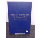 Cecil W Tyzack Ltd Catalogue of tools and equipment