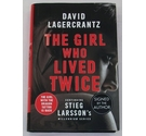 The Girl Who Lived Twice - First Edition Signed by the Author