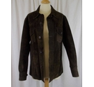 Dandy Suede Jacket Brown Size: S