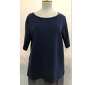 BNWT Crew Clothing top, Navy, Size: 12