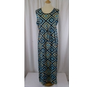 Gambles Collection Sleeveless Maxi Dress Blue Size: 20