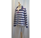Lazy jacks Jumper Blue and White Size: XL