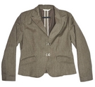 oui set smart jacket taupe brown Size: 16