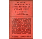 Modern Thermodynamics by the Methods of Willard Gibbs