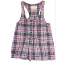 Jack Wills sleeveless summer top check patterned Size: 8