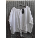 M&S Collection BNWT Linen short sleeved top White Size: 24
