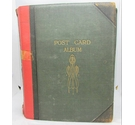 VINTAGE 1910 Post Card Album of a Lady, Almost 500 cards - British locations, Comics, Actors etc