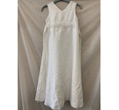 George Dress White Size: 9 - 10 Years