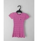 Ralph Lauren Cable Knit Dress Size18 mths Pink Size: Other