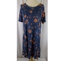 Fat Face Short Sleeved Tunic Blue Size: 12