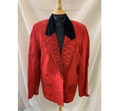 She for Austin Collection Jacket Red Size: S