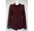 Paddy Campbell Jacket Wine Coloured Size: 10