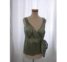 Coast Sleeveless Top Green Size: 16