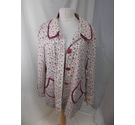 NESS 3/4 LENGTH COAT PINK ROSE Size: 16