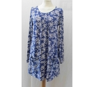 Lazy Jacks Tunic Top Blue Size: 10