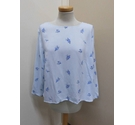 Divided top blue Size: 8