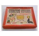 Vintage: Waddington Teaching Jigsaw: Circus Spelling Pictures