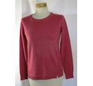 White Stuff Ladies Pullover Deep Pink Size: 8