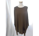 Ischiko Oversized Top Green Size: 8