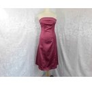 Coast Strapless satin feel dress Rose Size: 10