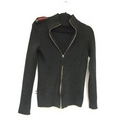 Moschino Zip up jumper Black Size: 8
