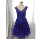 Ted Baker Party Dress Purple Size: M