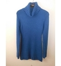 New Look Long Roll Neck Jumper Blue Size: 12 - 13 Years