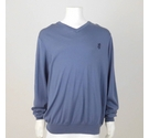 Pringle Fine Merino Jumper Slate Blue Size: XL