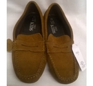 M&S Kids Suede Shoes brown Size: 3