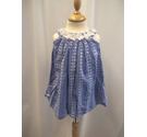 Monsoon Floral Sleeveless Top Blue Size: 12-24 months