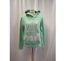 Animal Hooded Jumper Green Size: S